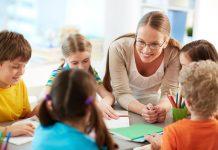 děti škola učitel